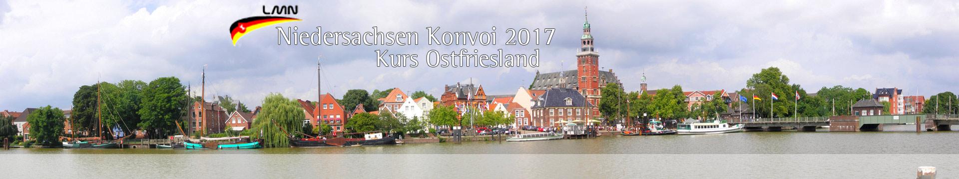 Kurs Ostfriesland – Niedersachsenkonvoi und Leer Maritim